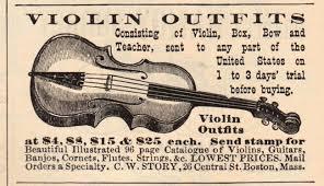 violin ad