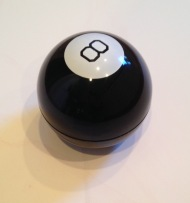 8 ball white