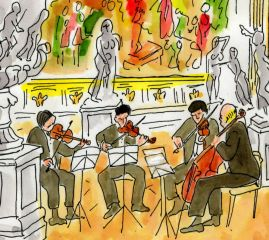 string quartet sketch