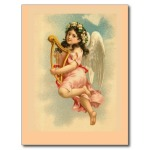 angel with harp
