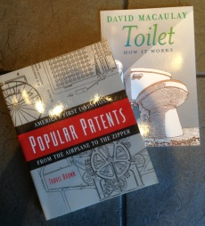 patent books and toilet