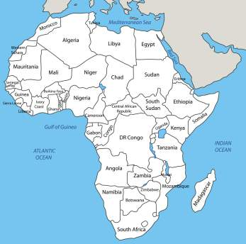 AfricaCountriesMap