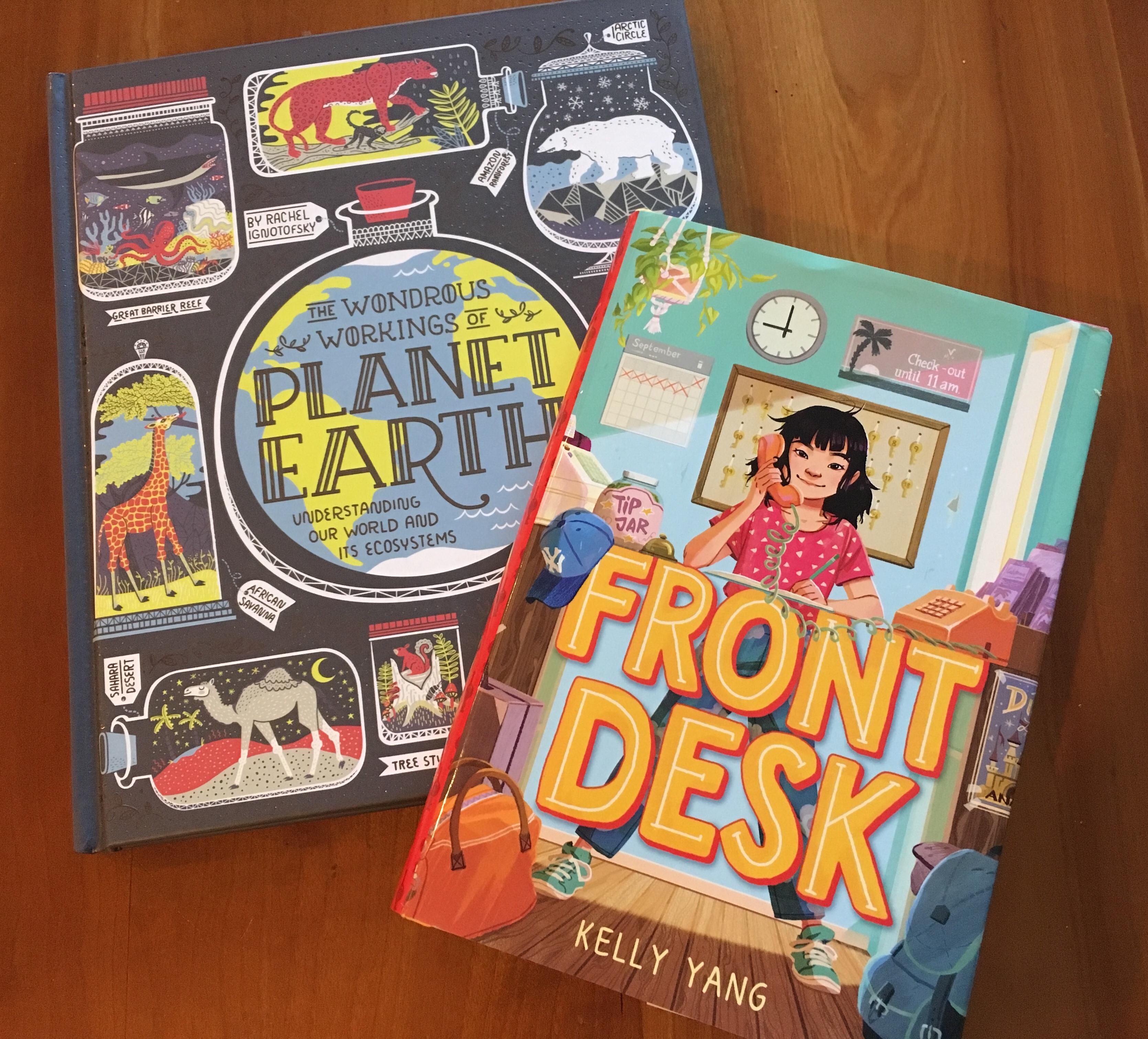 front desk book