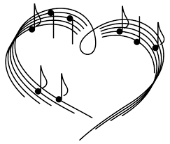 hearts and music
