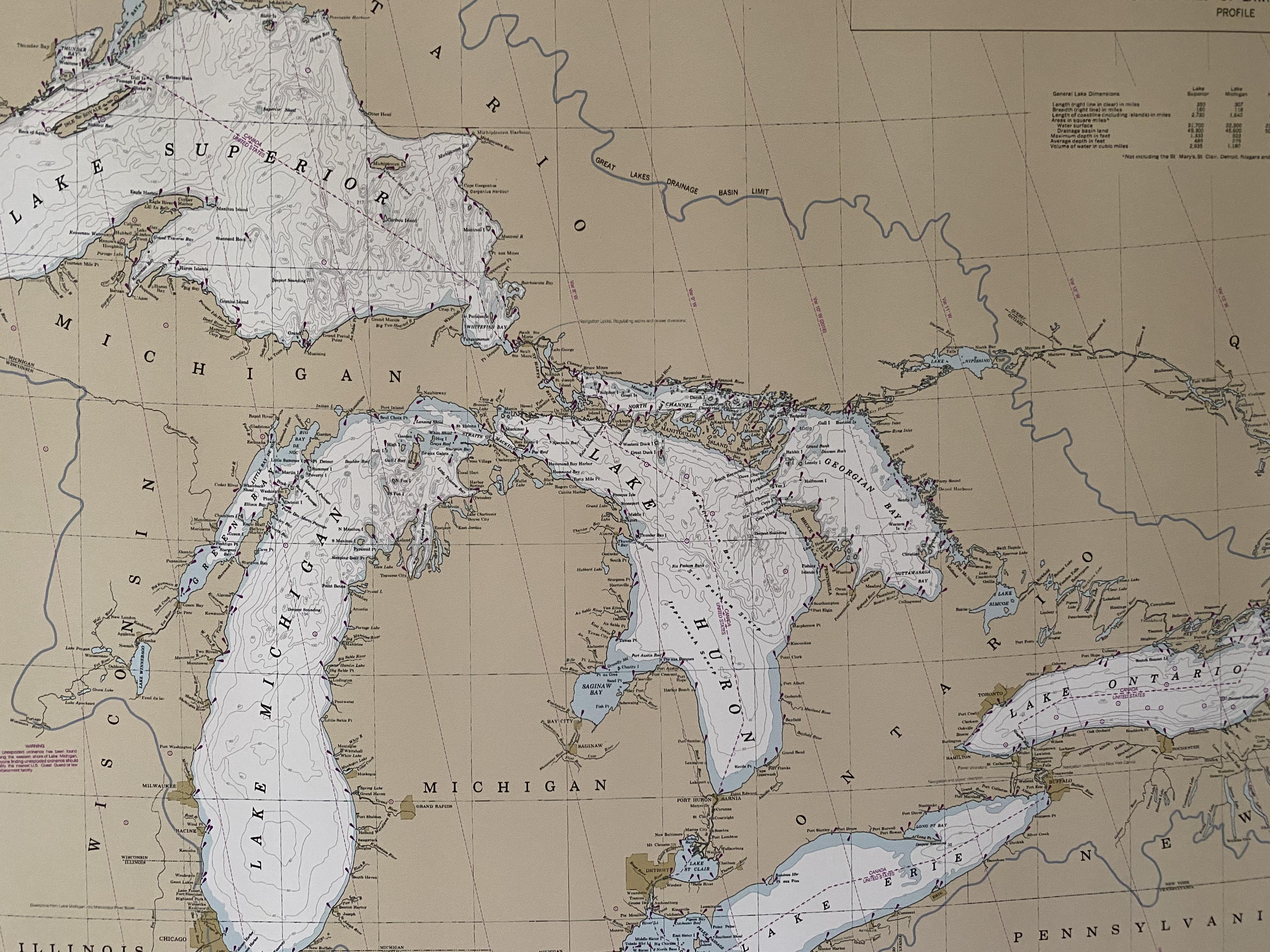 lakes map